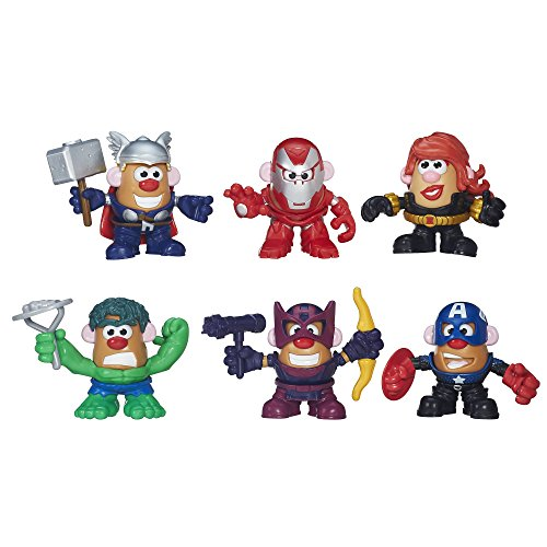 The Collector Marvel Costume (Marvel Playskool Mixable, Mashable Heroes! Super Hero Assembly Pack Mr. Potato Head (944781))