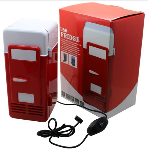 Mini USB Desktop Fridge Cooler Refrigerator