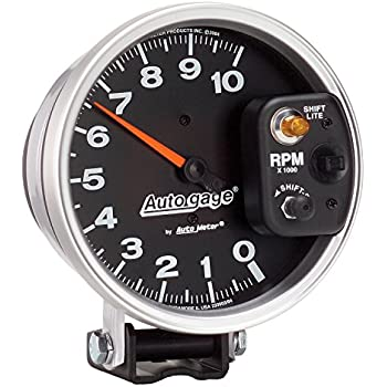 amazon com auto meter 233903 autogage monster shift lite tachometer