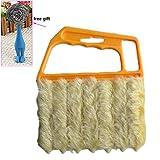 Blind & Shutter Brush Soft Flow-Thru Brush Idear For Windows, Awnings, Siding, Vinyl, And Fiberglass Cleaning