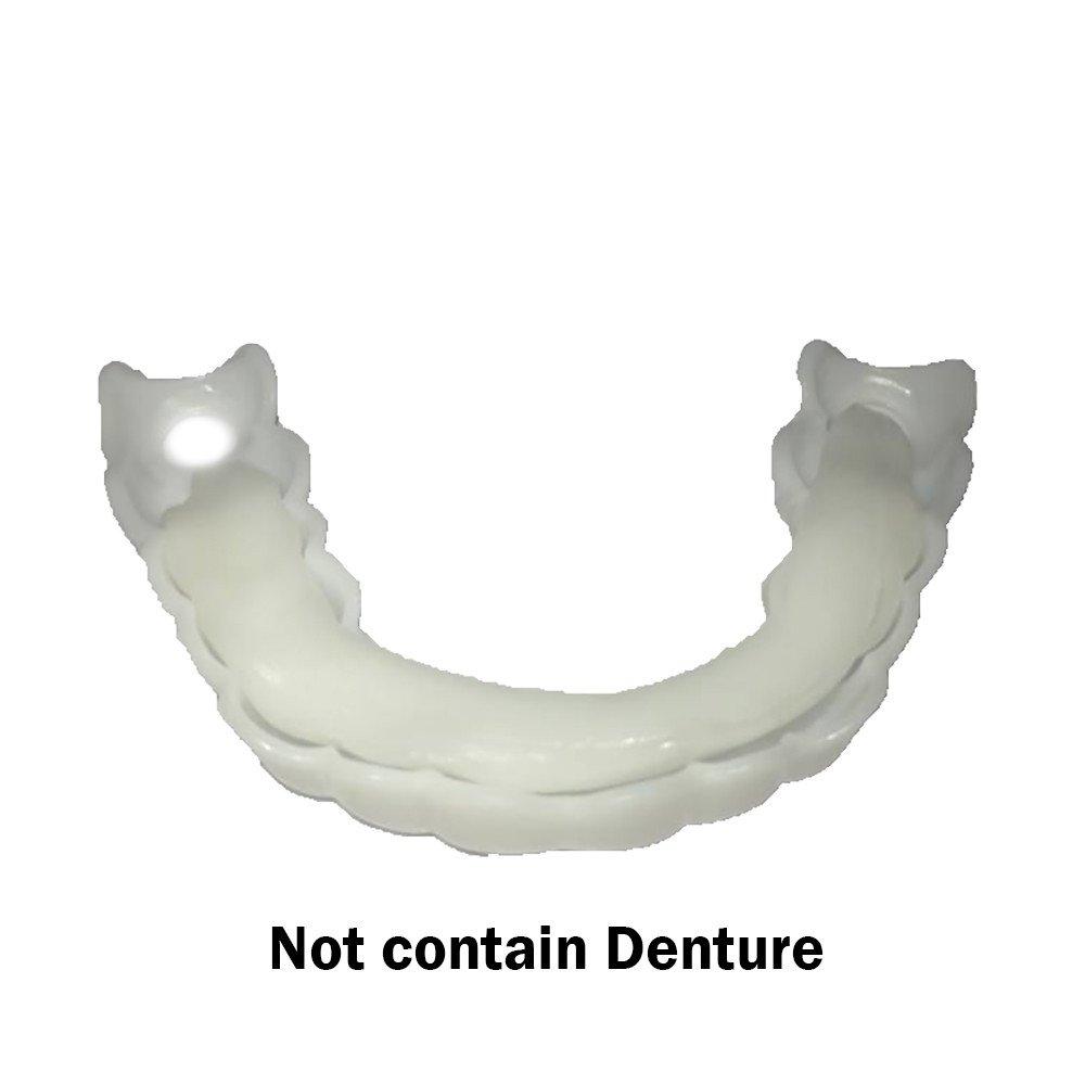 Inkach Denture Teeth Glue - Temporary Cosmetic Upper Teeth Veneer Teeth Whitening Denture Model Gel (white) by Inkach- (Image #4)