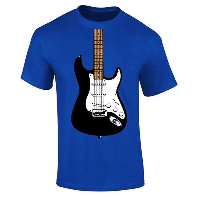 para Hombre para Guitarra eléctrica Image T-Camiseta de Manga Corta: Amazon.es: Ropa y accesorios