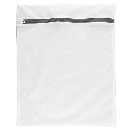 Bolsa de red con cremallera para lavadora, diseñado especialmente para su ropa sensible , ropa interior de calidad (tamaño M (Medium) 40 cm x 50 cm) - ...
