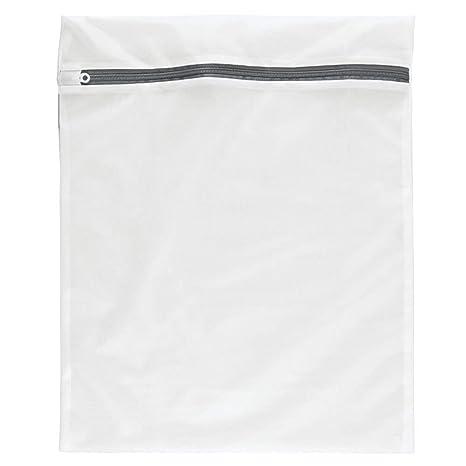 Bolsa de red con cremallera para lavadora, diseñado especialmente para su ropa sensible , ropa interior de calidad (tamaño L (Large) 50 cm x 60 cm) - ...