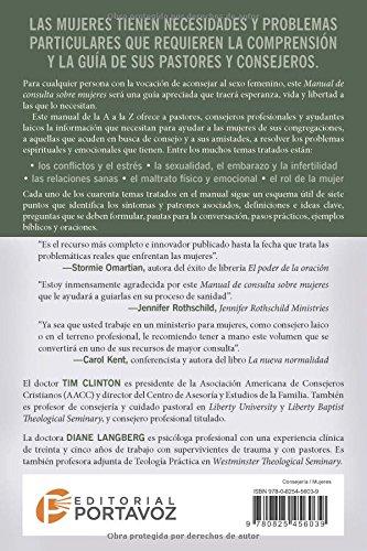 Amazon consejera bblica 4 manual de consulta sobre mujeres amazon consejera bblica 4 manual de consulta sobre mujeres spanish edition consejeria biblica 9780825456039 dr tim clinton books fandeluxe Images