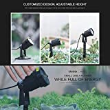 SIAOTELIGHT Small Size Outdoor Lawn Light Starry Decorations Outdoor Indoor Projector,Waterproof Landscape Lights of Static Still Star for Parties,Celebration