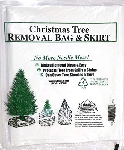 Pursell 83-DT5026 Premium Christmas Poly Large Storage Bag 9' x 6' for 9' Trees, 9 Foot (Packaging may vary)
