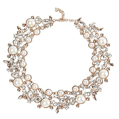Holylove Statement Necklace for Women Novelty Jewelry White Gift Box-8058set