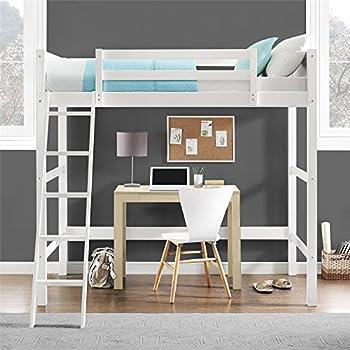 Dorel Living Wood Loft Style Bunk Bed, Twin