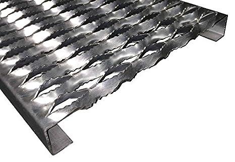 48 Length x 11-3//4 Width x 1-1//2 Depth 3151512-48 Grip Strut Channel 12 Gauge Carbon Steel 5-Diamond Plank Safety Grating