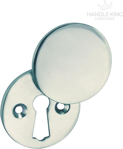 Key Hole Escutcheon Cover Chrome Includes Fixing Screws
