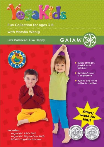 Gaiam Kids Yogakids Fun Collection