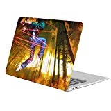 KoolMac [ Full Body Hard Case ] [ Apple Old Macbook Pro 13'' with CD-ROM (Model: A1278) ] - Artistic Human Fire Game Fun Time
