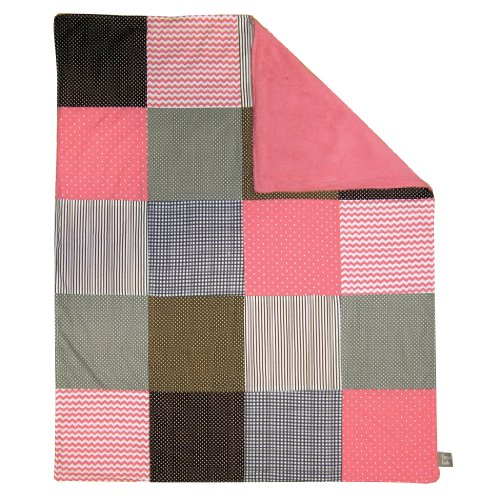 Trend Lab Multi Patched Receiving Blanket