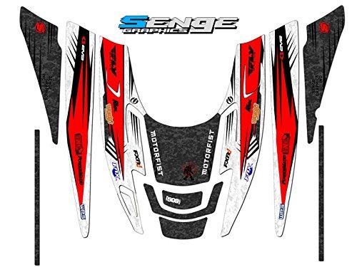 2010 Polaris EDGE DEVIOUS Red graphics kit ()