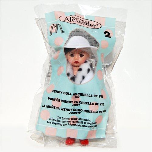 Madame Alexander Dolls Rare - Madame Alexander Doll - Wendy Doll as Cruella De Vil - McDonald's 2004 #2