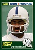 #9: 1989 Score Football Rookie Card #272 Andre Rison Mint