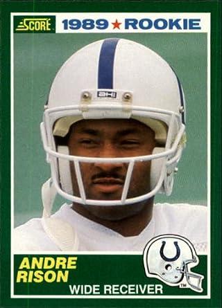 Amazoncom 1989 Score Football Rookie Card 272 Andre Rison Mint