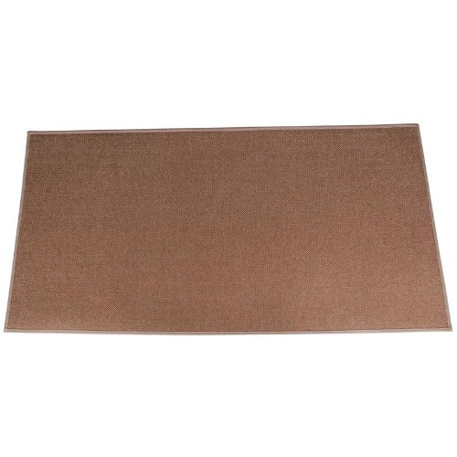4' Rectangle Brown Guardian Fireplace Rug by BAC Fireside Distributors, Inc