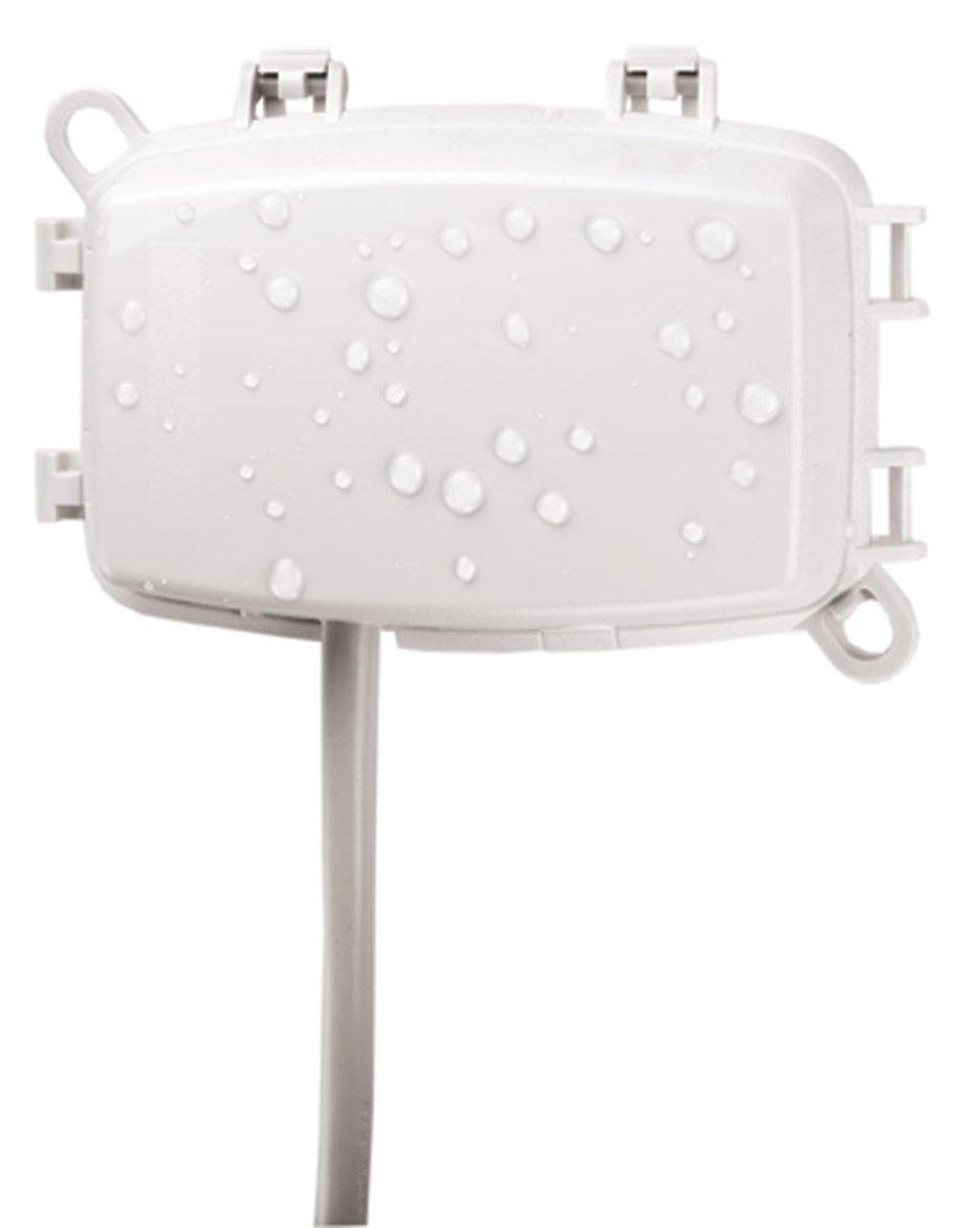 Intermatic WP1100WC 1 Gang Vertical Horizontal 2 3 4 Inch Weatherproof Box White
