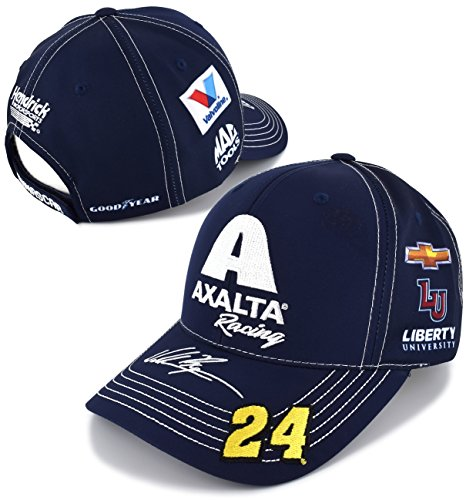 Checkered Flag William Byron 2018 Axalta Racing Uniform NASCAR Hat Checkered Flag Nascar Racing Cap