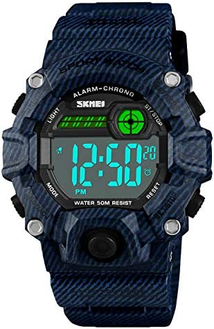 Waterproof Electronic Military Silicone Stopwatch product image