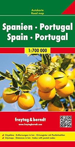 Spanien - Portugal, Autokarte 1:700.000 (freytag & berndt Auto + Freizeitkarten)