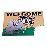 BigMouth Inc Beware of The Dog Wacky Welcome Doormat