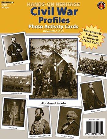 Photo History Civil War 8/pk by Edupress
