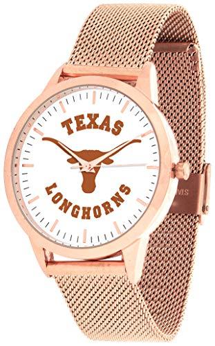 Texas Longhorns - Mesh Statement Watch - Rose Band