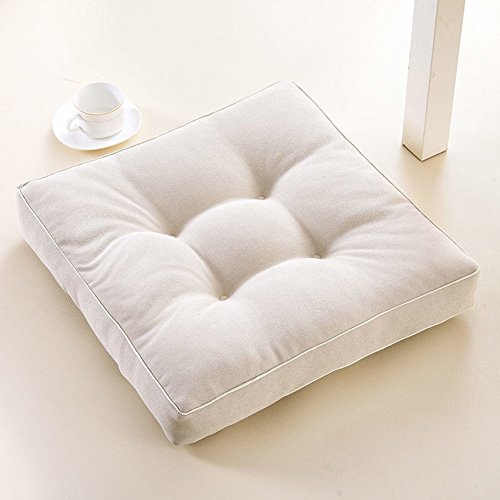 Tatami Leisure Cushions Thicken Seat Mat Office Indoor Outdoor Deep Seat Chair Mat Garden Chair Pad Car Floor Yoga Mat, houseHold, p, 4545cm(1818inch)
