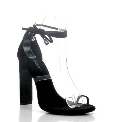 62daea48697 Amazon.com: Shoes2Die4 Cape Robbin Sencha Suede Elasticized Toe Ring ...