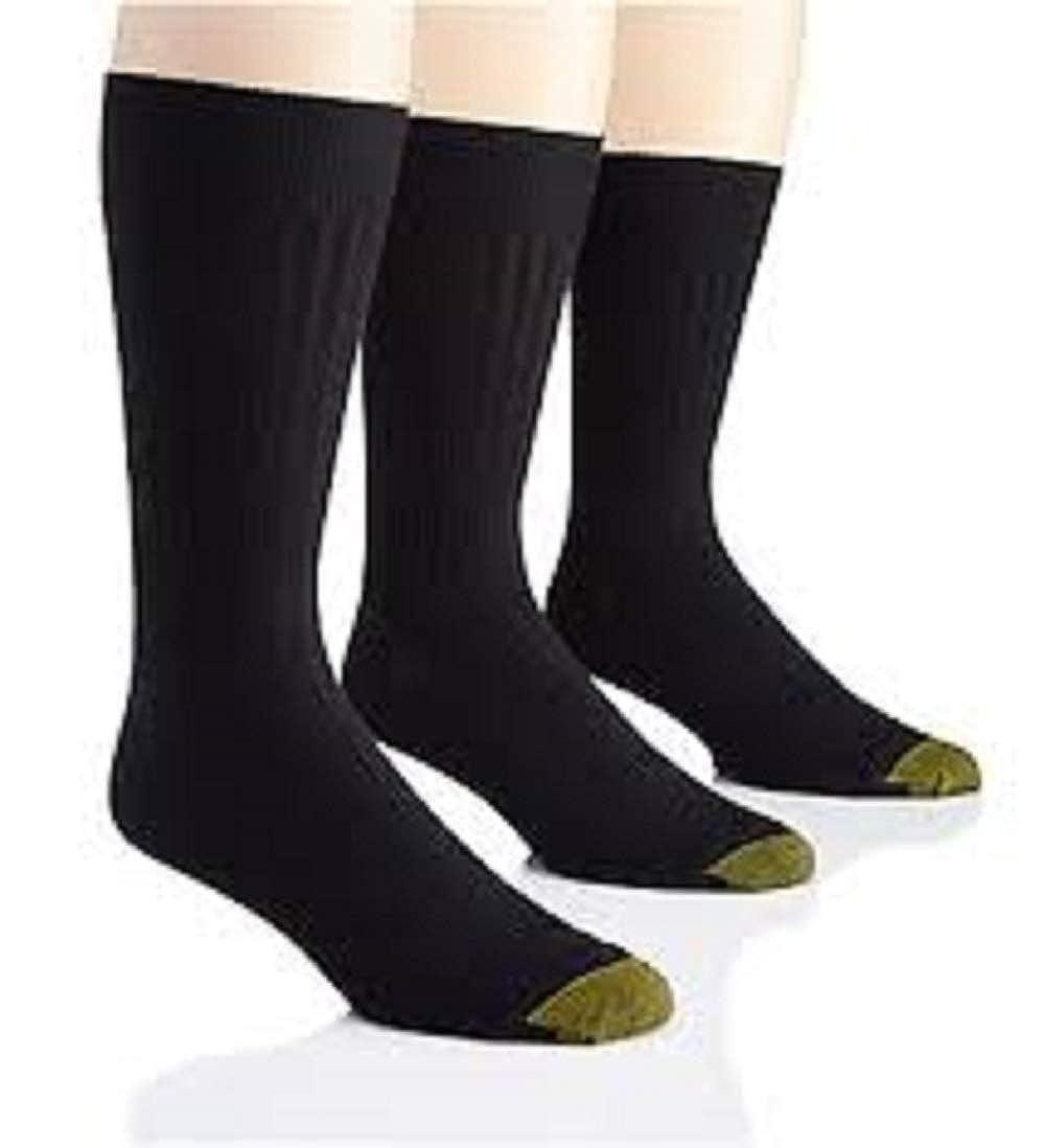 Gold Toe Mens Canterbury Big and Tall Dress Sock