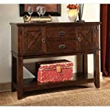 Cheap Standard Furniture 11902 Sonoma Sideboard with Two Drawers and Two