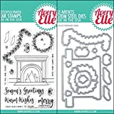 ShopForAllYou Stamping & Embossing (Stamp & Die Bundle)''Fireside'' Clear Stamps Only OR Clear Stamp