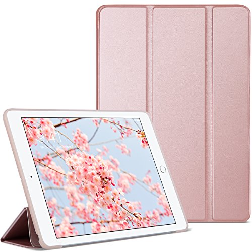 ULAK iPad 9.7 2018/2017 Case, Slim Lightweight Smart Case Tr