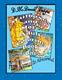 img - for Mailboxes and More Adult Coloring Book One book / textbook / text book
