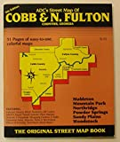 img - for Adc Street Map Book Cobb & North Fulton Counties, Georgia book / textbook / text book