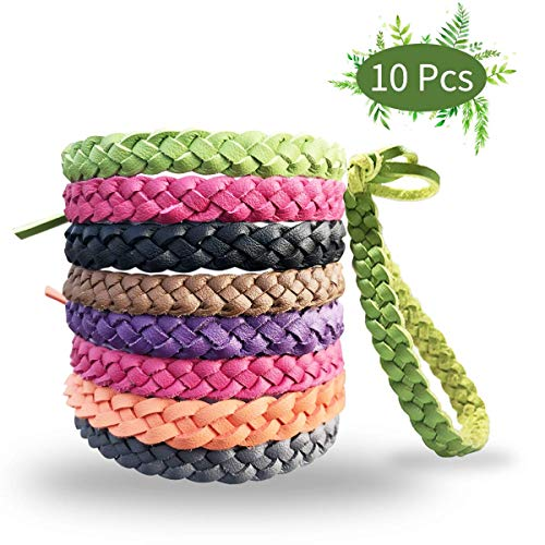Bug Band 10 Pack Mosquito Repellent Bracelets
