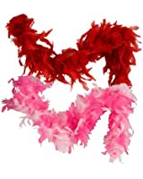 Cherry Red 6 Foot 60 Gram Feather Boas