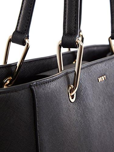 DKNY, Borsa a spalla donna nero nero