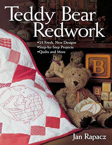 - Teddy Bear Redwork