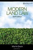 Modern Land Law, Martin Dixon, 0415458447