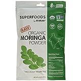 MRM - Raw Organic Moringa Leaf Powder, Non-GMO Project Verified, Vegan and Gluten-Free (8.5 Ounce)