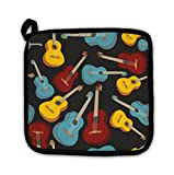 Gear New Pot Holder, Pattern Isolated Guitars, GN154