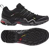 adidas Outdoor Terrex Fast X Hiking Shoe - Men's Carbon/Black/Light Scarlet 10.5