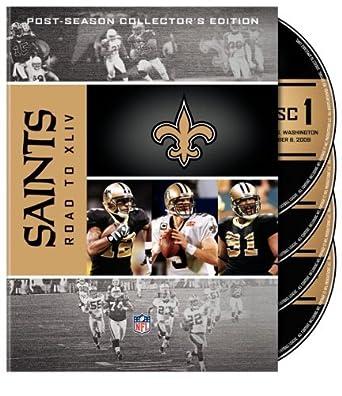Amazon Com Nfl New Orleans Saints Road To Super Bowl Xliv Post