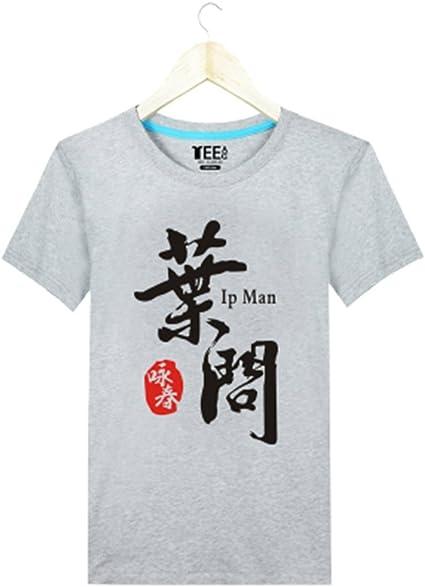 zooboo Hombre Artes Marciales Tai Chi Wing Chun IP Man Kung Fu camiseta Gris gris Talla:small: Amazon.es: Deportes y aire libre
