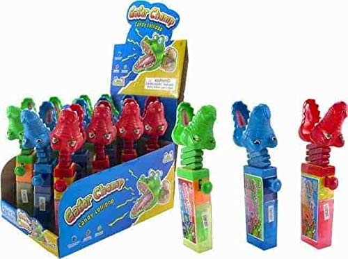 Gator Chomp Candy Lollipp -12 cts]()