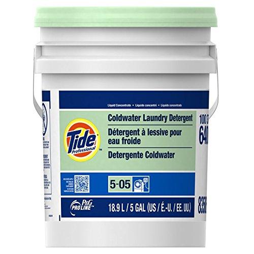 Procter & Gamble Pro Line Tide Professional Coldwater Laundry Detergent, 5 gal pail